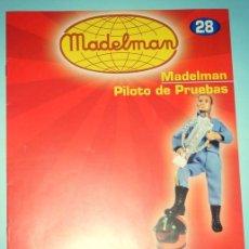 Juguetes antiguos: CATÁLOGO / FASCÍCULO MADELMAN ALTAYA Nº 28, PILOTO DE PRUEBAS.. Lote 109502547