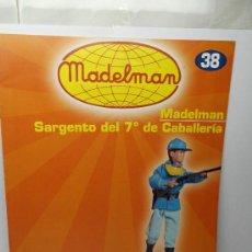 Juguetes antiguos: CATÁLOGO / FASCÍCULO MADELMAN ALTAYA Nº 38, SARGENTO DEL 7º DE CABALLERÍA.. Lote 109503534
