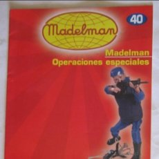 Juguetes antiguos: CATÁLOGO / FASCÍCULO MADELMAN ALTAYA Nº 40, OPERACIONES ESPECIALES.. Lote 109503536