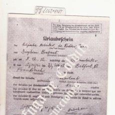 Jouets Anciens: FOLLETO INSTRUCCIONES ORIGINAL DEL JUEGO DE MESA LA FUGA DE COLDITZ. Lote 109822859