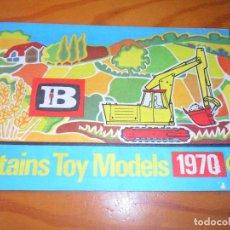 Juguetes antiguos: CATALOGO 1970 DE BRITAINS TOY MODELS - 32 PAGINAS -. Lote 110278095