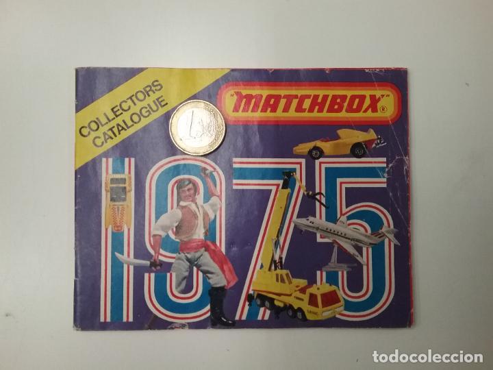 CATÁLOGO - MATCHBOX - COLLECTORS CATALOGUE -1975