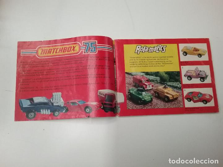 CATÁLOGO - MATCHBOX - COLLECTORS CATALOGUE -1975