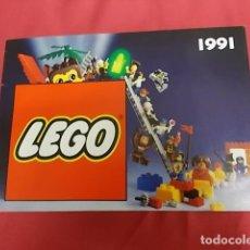 Juguetes antiguos: CATALOGO. LEGO 1991. . Lote 111423983