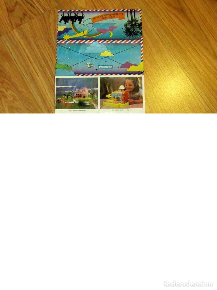 Juguetes antiguos: CARTA REYES MAGOS FAMOSA PLAYMOBIL PIN Y PON PITUSINES TRINOS NANCY BARRIGUITAS DARLING CHIQUITOS - Foto 2 - 111533535