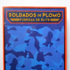 Juguetes antiguos: SOLDADOS DE PLOMO. FUERZAS DE ÉLITE. CARPETA CON TODAS SUS FICHAS. ALTAYA. Lote 111877967