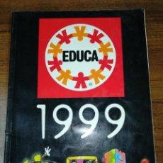 Juguetes antiguos: CATALOGO PUZZLES EDUCA AÑO 1999. Lote 112328615