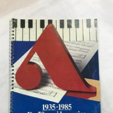 Juguetes antiguos: CATALOGO JUGUETES ANTONELLI 1985 - ITALIA - 50 AÑOS DE LA MUSICA, SERIE ESP. PANTERA ROSA -VER FOTOS. Lote 112602015