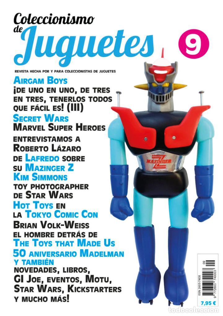 REVISTA COLECCIONISMO DE JUGUETES NÚMERO 9 – FEBRERO 2018 (Juguetes - Catálogos y Revistas de Juguetes)