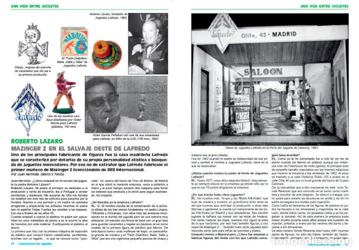 Juguetes antiguos: Revista Coleccionismo de juguetes Número 9 – Febrero 2018 - Foto 2 - 112998035