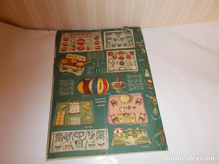 Juguetes antiguos: Revista catalogo de juguetes de Galerias Preciados año 1954-1955 con muchas muñecasy juguetes,Perfec - Foto 2 - 113003711