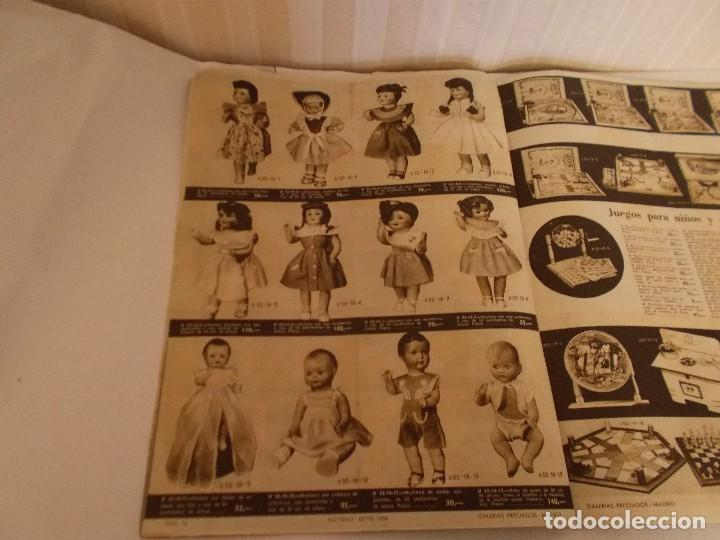 Juguetes antiguos: Revista catalogo de juguetes de Galerias Preciados año 1954-1955 con muchas muñecasy juguetes,Perfec - Foto 3 - 113003711