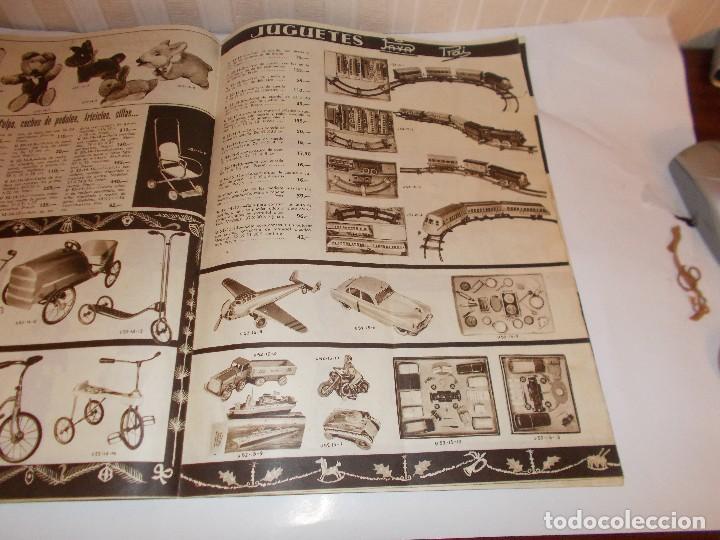 Juguetes antiguos: Revista catalogo de juguetes de Galerias Preciados año 1954-1955 con muchas muñecasy juguetes,Perfec - Foto 6 - 113003711