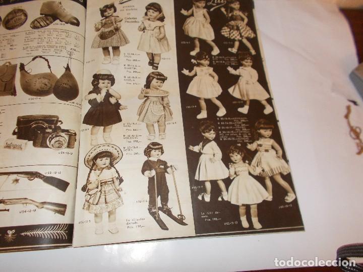 Juguetes antiguos: Revista catalogo de juguetes de Galerias Preciados año 1954-1955 con muchas muñecasy juguetes,Perfec - Foto 7 - 113003711