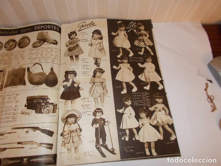 Juguetes antiguos: Revista catalogo de juguetes de Galerias Preciados año 1954-1955 con muchas muñecasy juguetes,Perfec - Foto 8 - 113003711