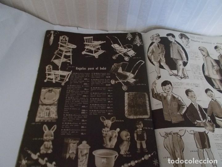 Juguetes antiguos: Revista catalogo de juguetes de Galerias Preciados año 1954-1955 con muchas muñecasy juguetes,Perfec - Foto 11 - 113003711