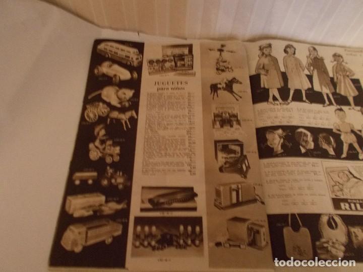 Juguetes antiguos: Revista catalogo de juguetes de Galerias Preciados año 1954-1955 con muchas muñecasy juguetes,Perfec - Foto 12 - 113003711