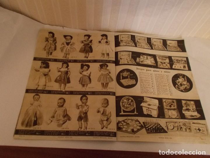 Juguetes antiguos: Revista catalogo de juguetes de Galerias Preciados año 1954-1955 con muchas muñecasy juguetes,Perfec - Foto 13 - 113003711