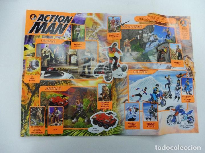 Juguetes antiguos: Catálogo desplegable póster Action Man Hasbro 1999 - Foto 2 - 119003840