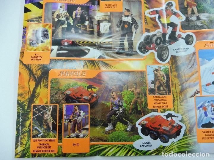 Juguetes antiguos: Catálogo desplegable póster Action Man Hasbro 1999 - Foto 5 - 119003840