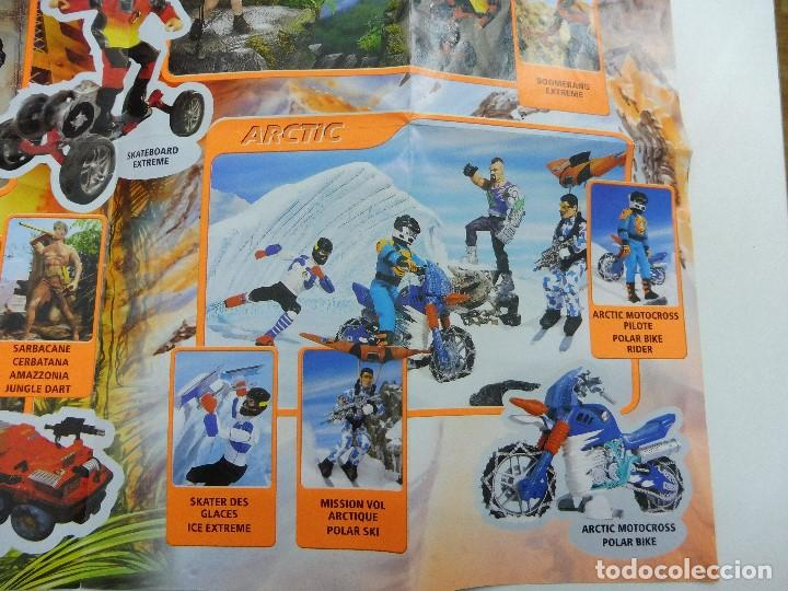 Juguetes antiguos: Catálogo desplegable póster Action Man Hasbro 1999 - Foto 6 - 119003840