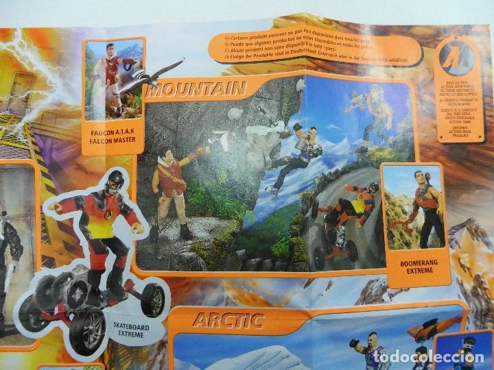 Juguetes antiguos: Catálogo desplegable póster Action Man Hasbro 1999 - Foto 7 - 119003840