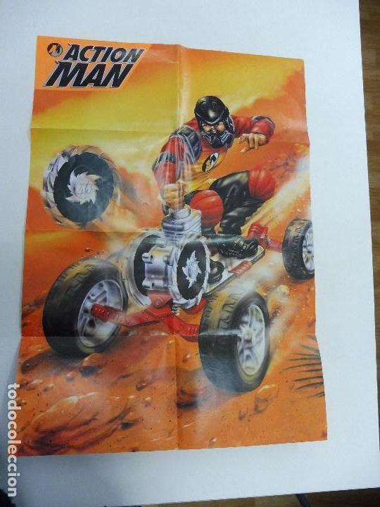 CATÁLOGO DESPLEGABLE PÓSTER ACTION MAN HASBRO 1999 (Juguetes - Catálogos y Revistas de Juguetes)