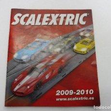 Juguetes antiguos: CATÁLOGO SCALEXTRIC 2009-2010. Lote 113278955