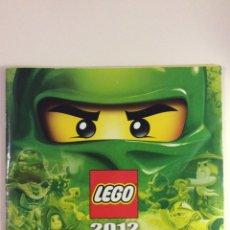 Juguetes antiguos: CATALOGO LEGO 2012. Lote 114265038