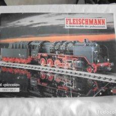 Juguetes antiguos: CATALOGO FLEISCHMANN 1997/98 N PICCOLO.EN FRANCES . Lote 114357831