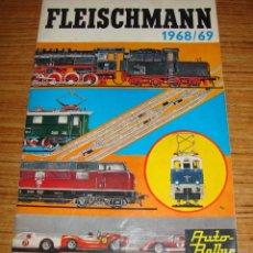 Juguetes antiguos: (ALB-TC-16) CATALOGO FLEISCHMANN 1968 69. Lote 115261831