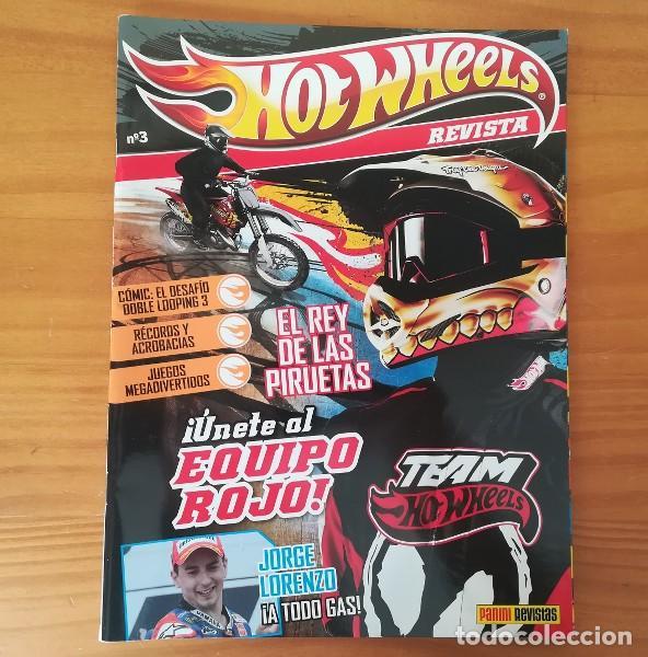 Hot Wheels Revista 3 Juegos Comic Jorge Lore Buy Antique Toy
