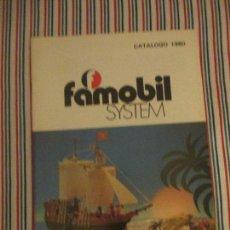 Juguetes antiguos: ANTIGUO CATALOGO JUGUETERIA, FAMOBIL, PLAYMOBIL, FAMOSA 1980. Lote 115336287