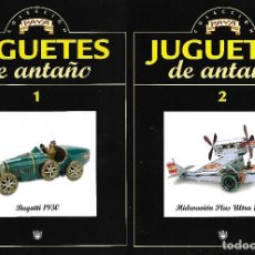 Juguetes antiguos: FASCICULOS Nº 1 Y 2 DE JUGUETES DE ANTAÑO DE PAYA. Lote 115385331