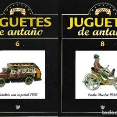Juguetes antiguos: FASCICULOS Nº 6 Y 8 DE JUGUETES DE ANTAÑO DE PAYA. Lote 115386563