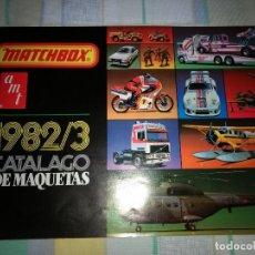 Juguetes antiguos: CATALOGO DE MAQUETAS MATCHBOX 1982/83. Lote 115419615