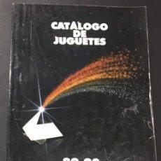 Juguetes antiguos: CATALOGO DE JUGUETES DE EL CORTE INGLES 1989 1990 89/90 TENTE CINEXIN MASTERS DEL UNIVERSO NANCY. Lote 115932775