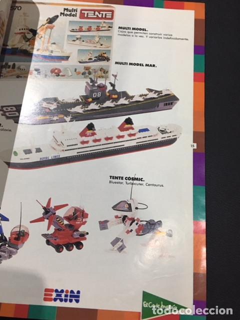 Juguetes antiguos: catalogo de juguetes de el corte ingles 1989 1990 89/90 tente cinexin masters del universo nancy - Foto 3 - 115932775