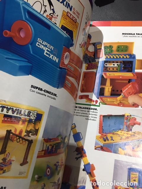 Juguetes antiguos: catalogo de juguetes de el corte ingles 1989 1990 89/90 tente cinexin masters del universo nancy - Foto 4 - 115932775