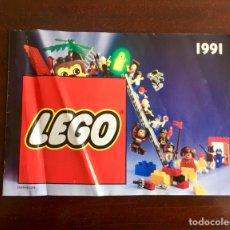 Juguetes antiguos: CATÁLOGO LEGO 1991. Lote 116168598