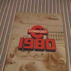 Juguetes antiguos: CONGOST, CATALOGO JUGUETERIA 1980, BARBIE, BIG JIM . Lote 116290895