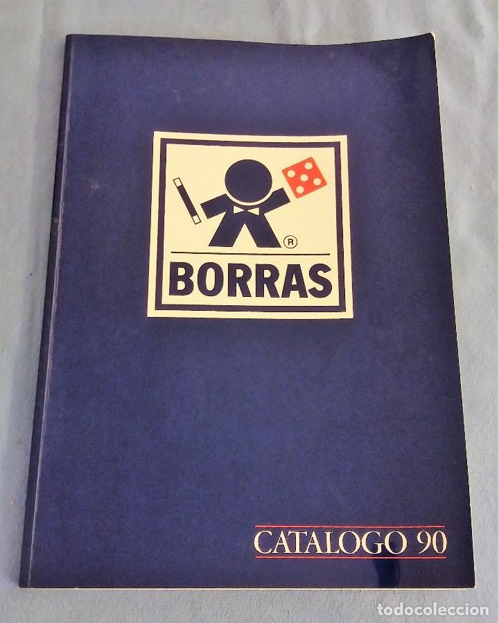 CATALOGO DE JUGUETERIA DE JUGUETES BORRAS AÑO 1990 ORIGINAL (Juguetes - Catálogos y Revistas de Juguetes)