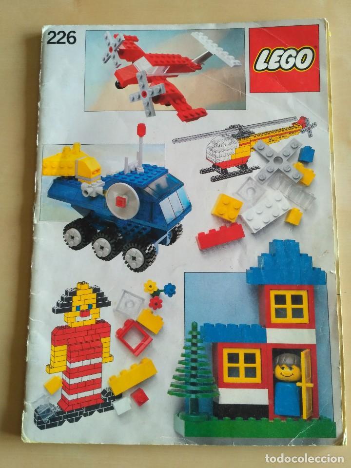 GRAN LOTE CATÁLOGO E INSTRUCCIONES LEGO - 40 EJEMPLARES - AÑOS 80 Y 90 (Juguetes - Catálogos y Revistas de Juguetes)