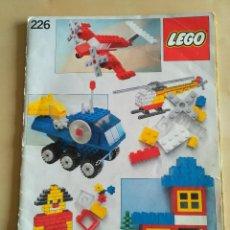 Juguetes antiguos: GRAN LOTE CATÁLOGO E INSTRUCCIONES LEGO - 40 EJEMPLARES - AÑOS 80 Y 90. Lote 116585935