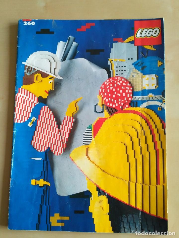 Juguetes antiguos: GRAN lote Catálogo e instrucciones LEGO - 40 ejemplares - años 80 y 90 - Foto 2 - 116585935