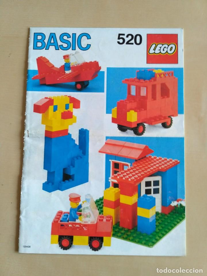 Juguetes antiguos: GRAN lote Catálogo e instrucciones LEGO - 40 ejemplares - años 80 y 90 - Foto 3 - 116585935