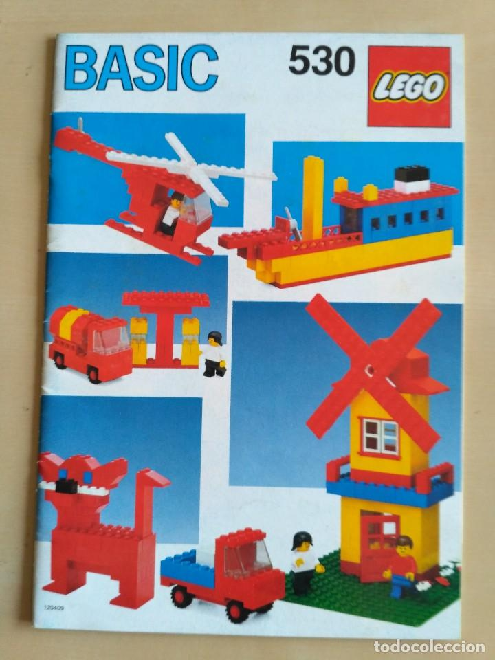 Juguetes antiguos: GRAN lote Catálogo e instrucciones LEGO - 40 ejemplares - años 80 y 90 - Foto 4 - 116585935