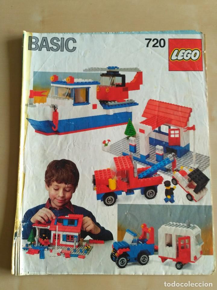 Juguetes antiguos: GRAN lote Catálogo e instrucciones LEGO - 40 ejemplares - años 80 y 90 - Foto 5 - 116585935