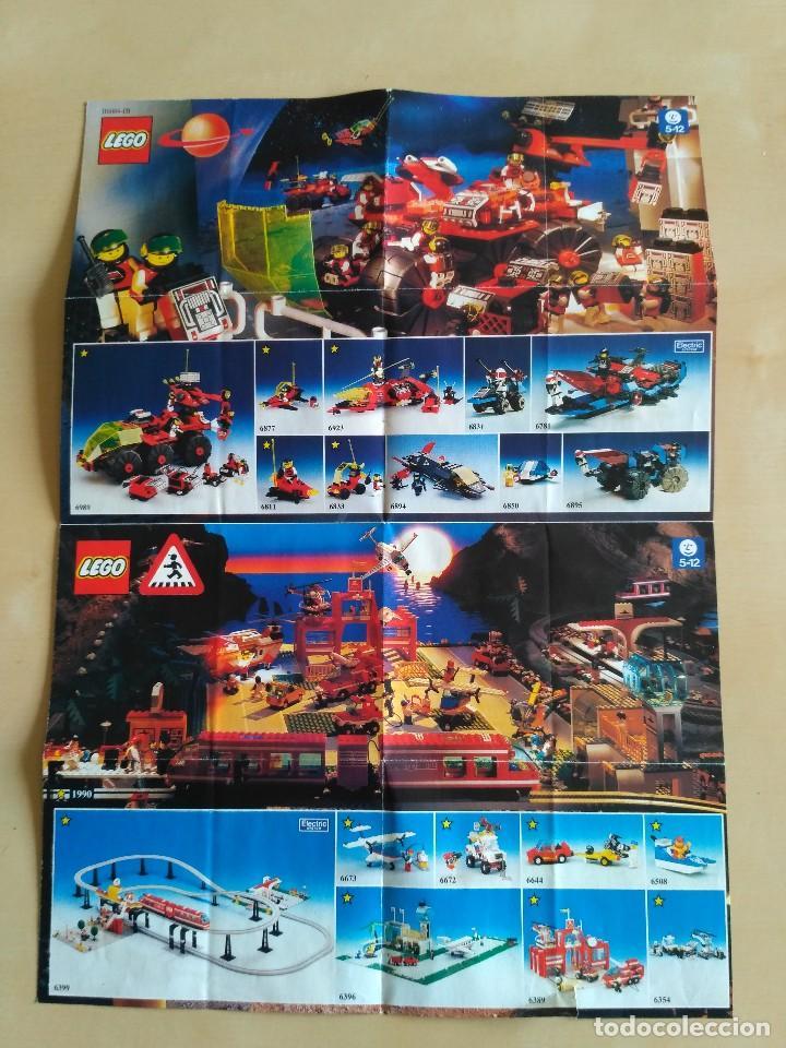 Juguetes antiguos: GRAN lote Catálogo e instrucciones LEGO - 40 ejemplares - años 80 y 90 - Foto 10 - 116585935