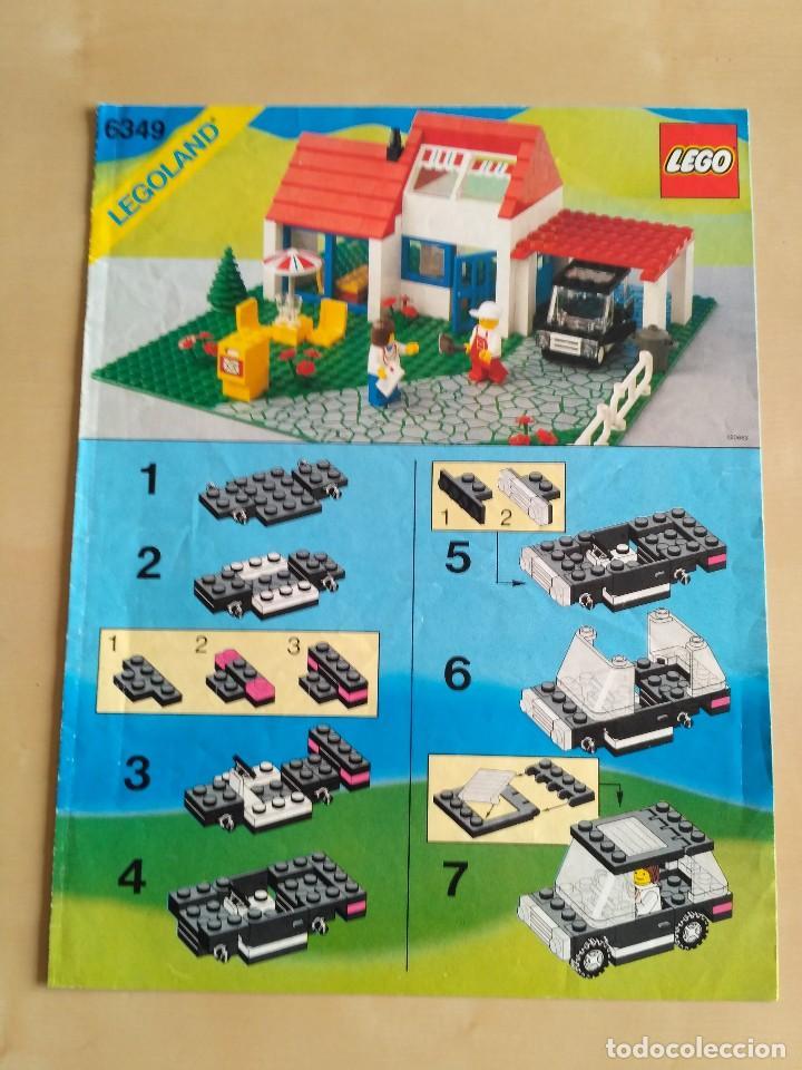 Juguetes antiguos: GRAN lote Catálogo e instrucciones LEGO - 40 ejemplares - años 80 y 90 - Foto 13 - 116585935